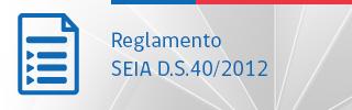 Reglamento DS 40 de 2012